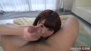 Japanese Blowjob In POV With Maya Kawamura
