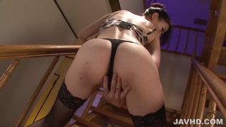 Kei Akanishi In Sizzling Lingerie Provides An Asian Blow Job