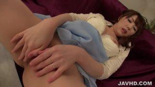 Japan Anal Dildo Makes Sexy Rei Furuse's Day