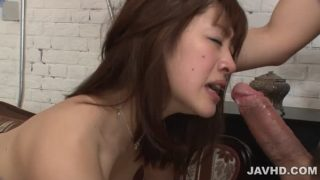Maki Sarada Provides Japan Blowjob Like A Real Goddess